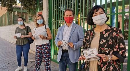 Xirivella repartirá mascarillas a todo su alumnado