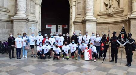 Éxito en la I Peregrinación Ciclista Corona de Aragón desde Massamagrell