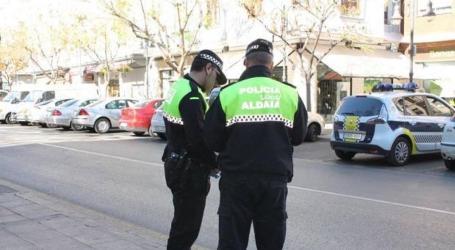 La Policía Local de Aldaia denuncia a 12 personas este fin de semana por comportamiento incívico en la vía pública