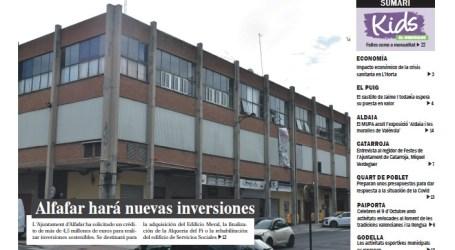 El Meridiano edición local Alfafar octubre