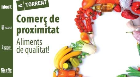 """El Ayuntamiento de Torrent da comienzo a la campaña """"Comerç de proximitat, aliments de qualitat"""""""