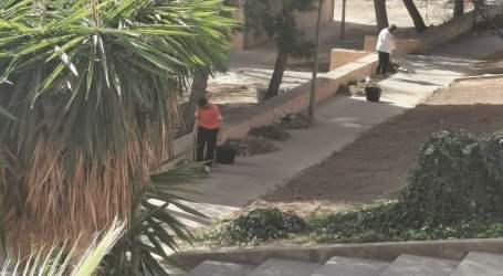 Compromís adverteix «que el veïnat de Mas del Rosari es veu obligat a netejar els carrers del barri»