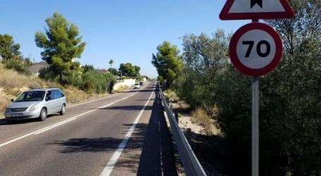 La Diputació mejorará la seguridad de la carretera que conecta Torrent, Montroi, Montserrat y Real