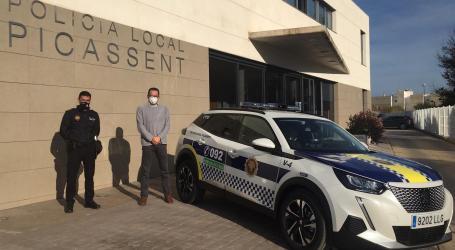 L'Ajuntament de Picassent adquireix un nou vehicle 100% elèctric per a la Policia Local