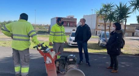 Massamagrell continúa la remodelación de las aceras del Barrio de la Magdalena con una inversión de 48.000 euros