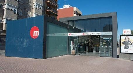 La Conselleria de Movilidad impulsa el transporte saludable con dos aparcabicis en las estaciones de metro de Alboraya y Quart de Poblet