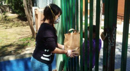 Los comedores escolares 365 días al año de Paterna repartieron 9.870 menús durante 2020