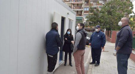 Burjassot habilita una nueva cabina prefabricada para las pruebas de COVID-19 en el Centro de Salud de Rubert i Villó