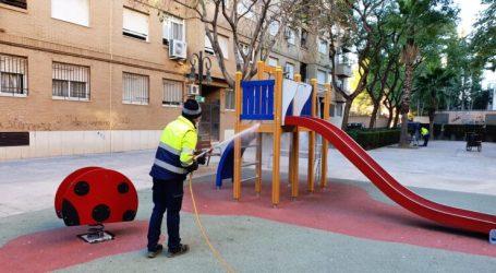 El 97% de los aldaieros a favor de que el Ayuntamiento siga desinfectando las calles a diario