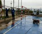 Bonrepòs i Mirambell fa millores en les instal·lacions del Poliesportiu Municipal