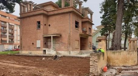 Foios inicia la urbanización del entorno del Chalet de la Jutera