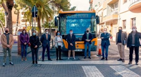 El Consell pone en marcha el 1 de marzo una nueva línea de MetroBus que unirá Albal, Catarroja, Massanassa, Alfafar y Benetússer con el metro de Paiporta