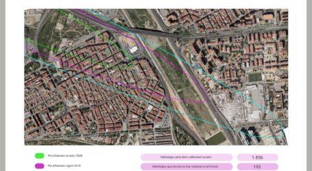 Un 10% de las viviendas de Xirivella afectadas por la huella acústica todavía no han tramitado su solicitud de aislamiento