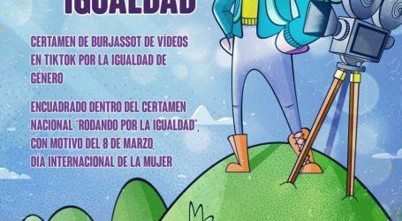 Burjassot anima a los jóvenes a crear vídeos en TikTok para concienciar y luchar por la igualdad de género