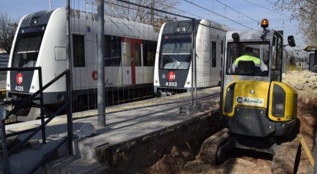 La Generalitat inicia las obras de mejora en los pasos entre andenes de la estación de Seminari-CEU