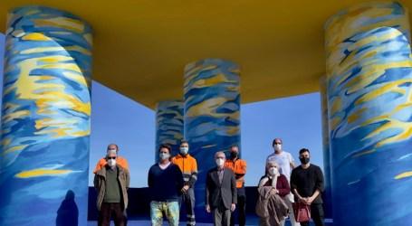 Alboraya presenta su renovado Mirador de La Patacona con el vecino y artista internacional Patricio Forrester