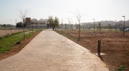 Mislata recupera un entorno degradado para crear 10.000 m2 de zona verde junto al Pou del Quint