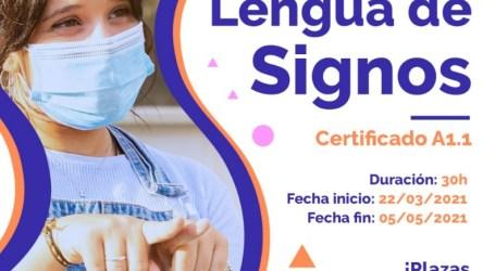 Paterna convoca un curso online y gratuito de lengua de signos