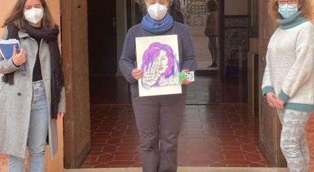 Mar Asuara guanya el primer certamen de cartells: «8 de Març, Dia Internacional de la Dona» d'Alfara del Patriarca
