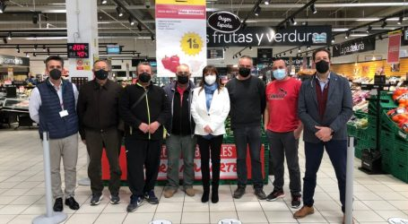 Massalfassar y Carrefour se unen para que el hipermercado venda los productos de la huerta