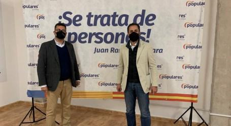 Juan Ramón Adsuara renueva su cargo como presidente del PP de Alfafar