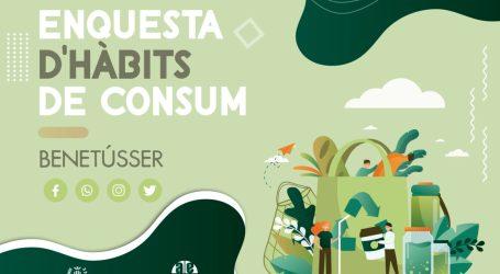 Benetússer pone en marcha una encuesta para valorar los hábitos de consumo actuales