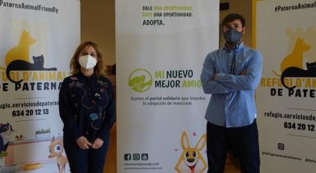 Paterna se incorpora al proyecto Mi nuevo mejor amigo para promover la adopción responsable y el bienestar animal