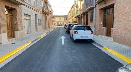 Bonrepòs i Mirambell finalitza els treballs d'adequació dels carrers Del Mig i Macarella