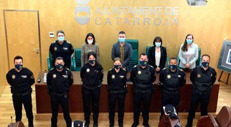 Catarroja reforça la plantilla de la seua policia municipal amb 7 nous agents