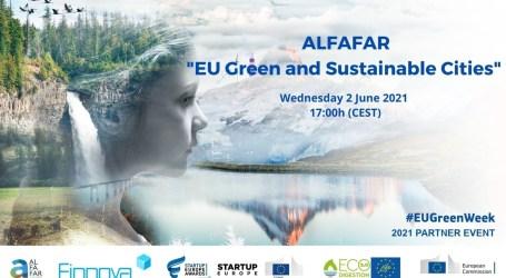 Alfafar apuesta por la sostenibilidad en las ciudades y participa en la Semana Verde Europea
