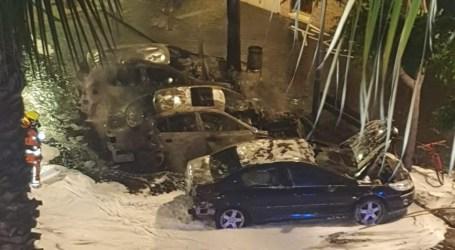 Queman tres coches en Xirivella