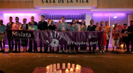 Concentraciones en l'Horta contra la violencia machista y vicaria