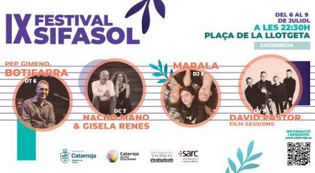 Catarroja celebra el Festival Musical Sifasol, apostant per la Cultura Segura