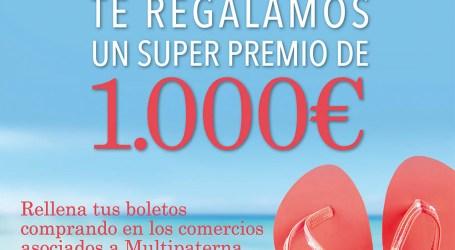Multipaterna prepara un sorteo de 1.000 euros para un solo ganador
