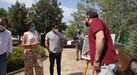 Paterna inicia en La Vallesa las pruebas de las 20 torres de cañones de agua del Proyecto GUARDIAN
