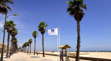 Q de qualitat per a les platges d'Alboraia per cinqué any