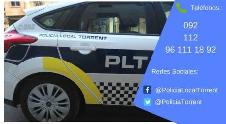La Policía Local de Torrent incrementa sus intervenciones para evitar aglomeraciones los fines de semana