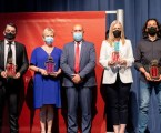 Joaquín Valera, la Colla de Tabalers i Dolçainers de L'horta Nord, la Conselleria de Sanidad Universal y Salud Pública, y 7 TeleValencia reciben las distinciones Vila de Massamagrell 2021