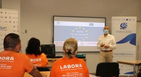 Quart és Europa testea esta aplicación europea de orientación laboral