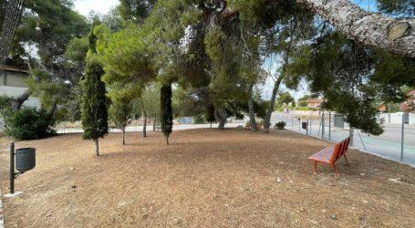 Nueva zona de esparcimiento canino en La Canyada