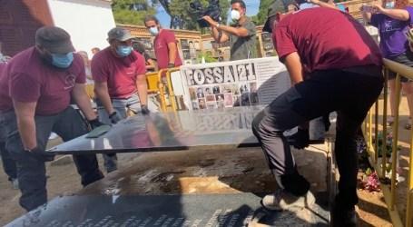 Comienzan los trabajos de exhumación de 76 víctimas del franquismo enterradas en la fosa 21 del cementerio de Paterna