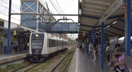 FGV restablece el servicio ferroviario entre las estaciones de Empalme y Burjassot de Metrovalencia