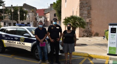 L'Ajuntament d'Albalat dels Sorells incorpora un nou vehicle elèctric per a la Policia Local