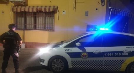 La Policia Local d'Alaquàs frustra un intent de robatori al polígon industriaL i recupera un gos furtat