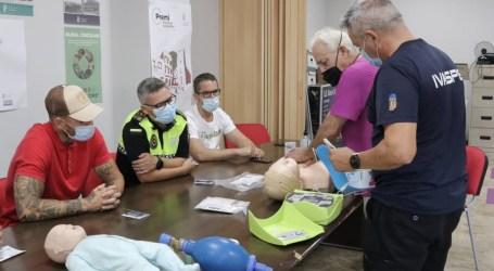 La Policía Local asiste al curso de actuación temprana ante problemas cardiovasculares