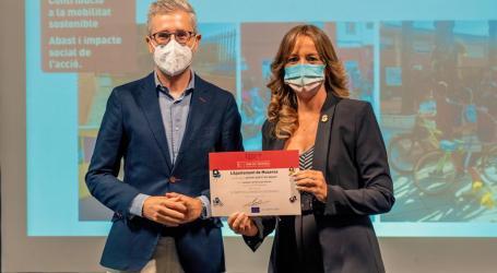 Museros premiado en la Semana Europea de la Movilidad Sostenible