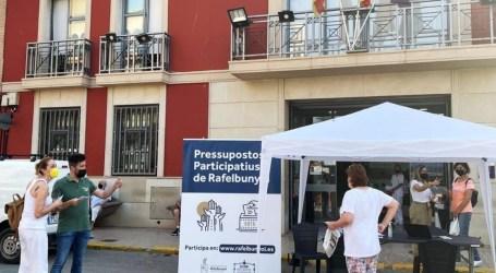 Rafelbunyol decide las propuestas a ejecutar dentro de los Presupuestos Participativos Sociales 2021-2022