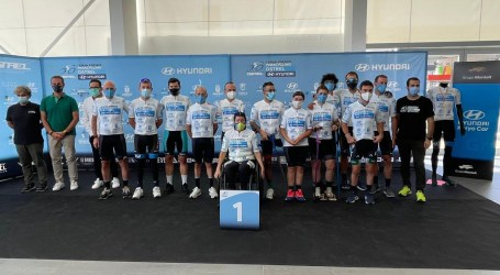 Sedaví va acollir l'última etapa del I Gran Premi Paracycling Dstrel