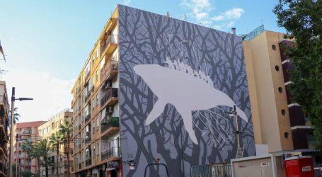 """""""La Calma"""", nuevo mural de la calle San Valeriano de Torrent"""