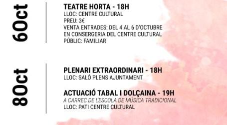 Massamagrell celebra el día de la Comunitat Valenciana con diferentes actividades y actos